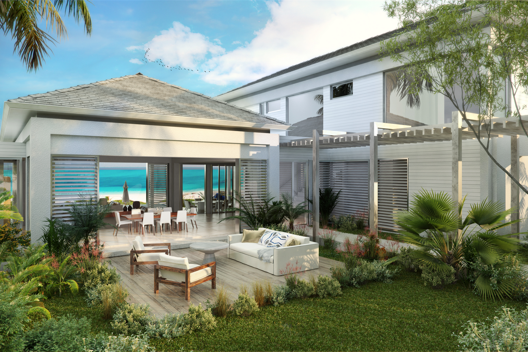 Additional photo for property listing at BEACH ENCLAVE GRACE BAY Design A Oceanview 格蕾斯湾, 普罗维登夏 TKCA 1ZZ 特克斯和凯科斯群岛