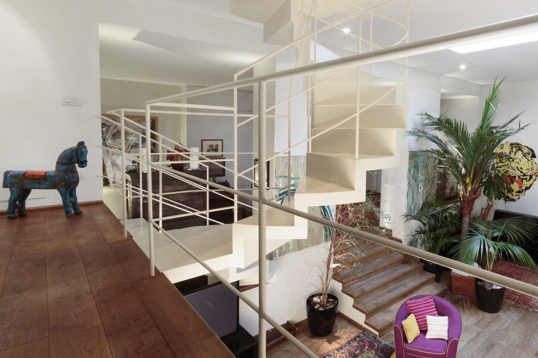 Additional photo for property listing at Charming apartment with terrace Via Ariberto Milano, Milan 20100 Italie