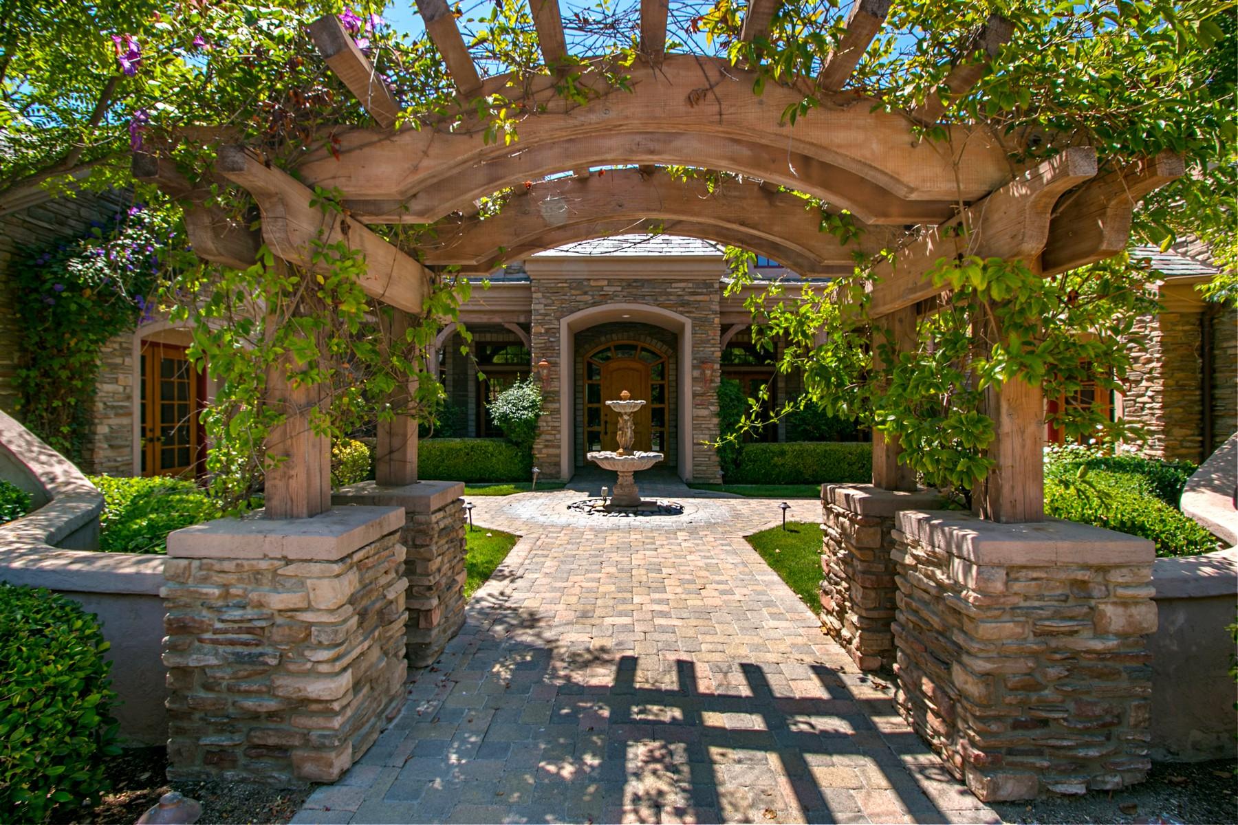 Частный односемейный дом для того Продажа на 14360 Cascade Crossing Poway, Калифорния 92064 Соединенные Штаты