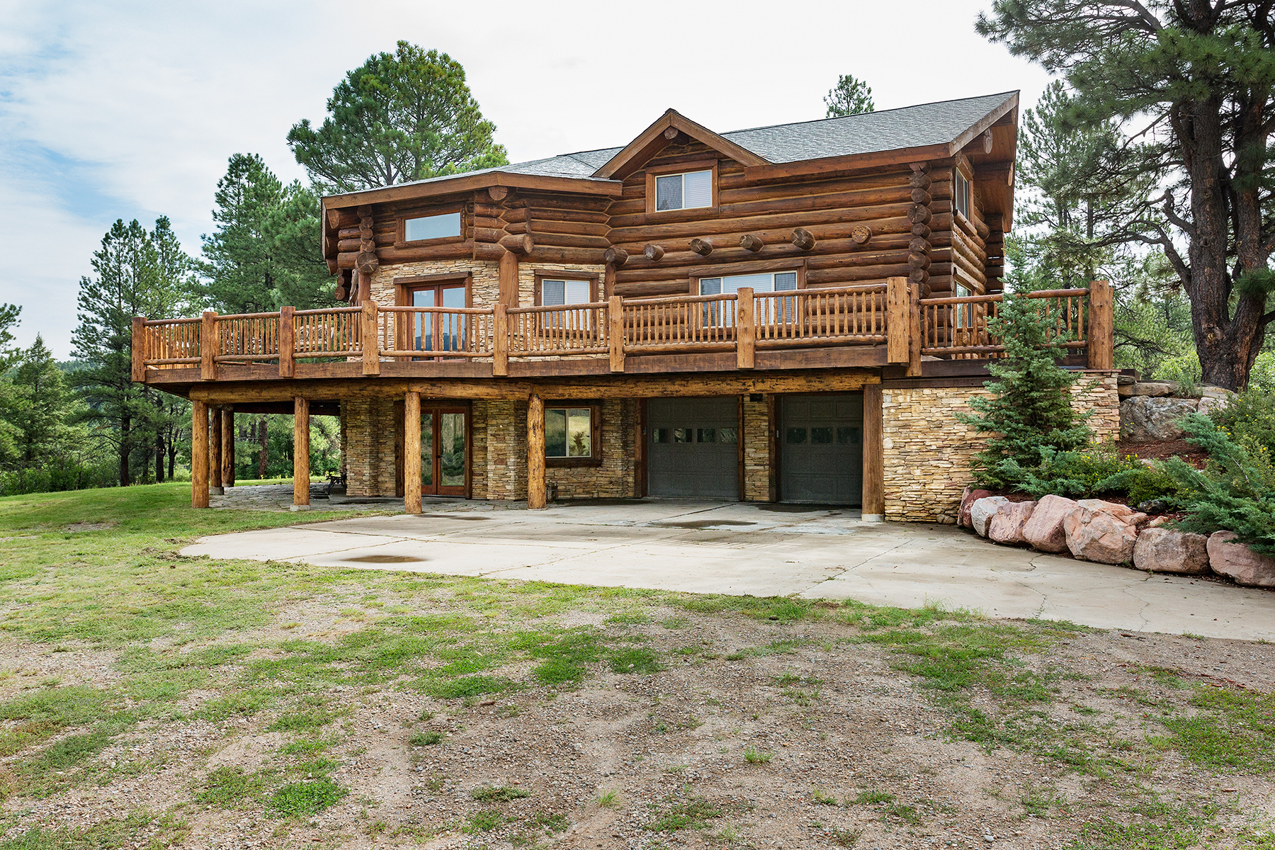 Single Family Home for Sale at Rocking A Ranch 16295 W HWY 160 Durango, Colorado 81301 United States