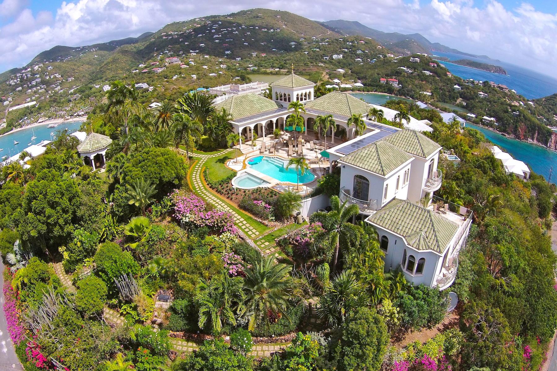 Single Family Home for Sale at Villa Kismet 80 Chocolate Hole St John, 00830 United States Virgin Islands