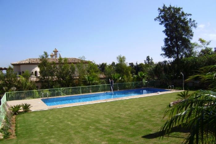 Villa in Sotogrande Alto with tranquil views of the Golf Course