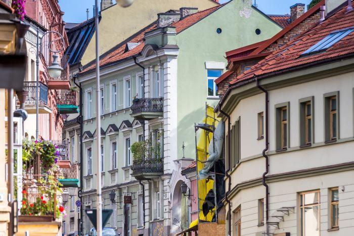 Unique Project in Vilnius Old Town