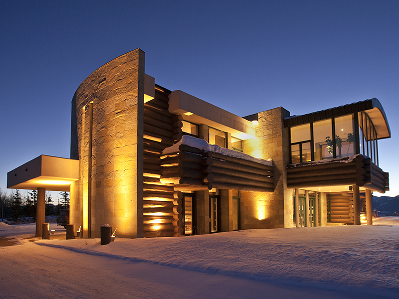 Teton Skyline -Architectural Masterpiece