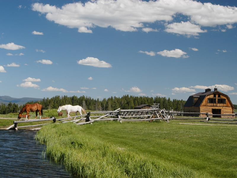 Private Ranch Near Jackson Hole Image