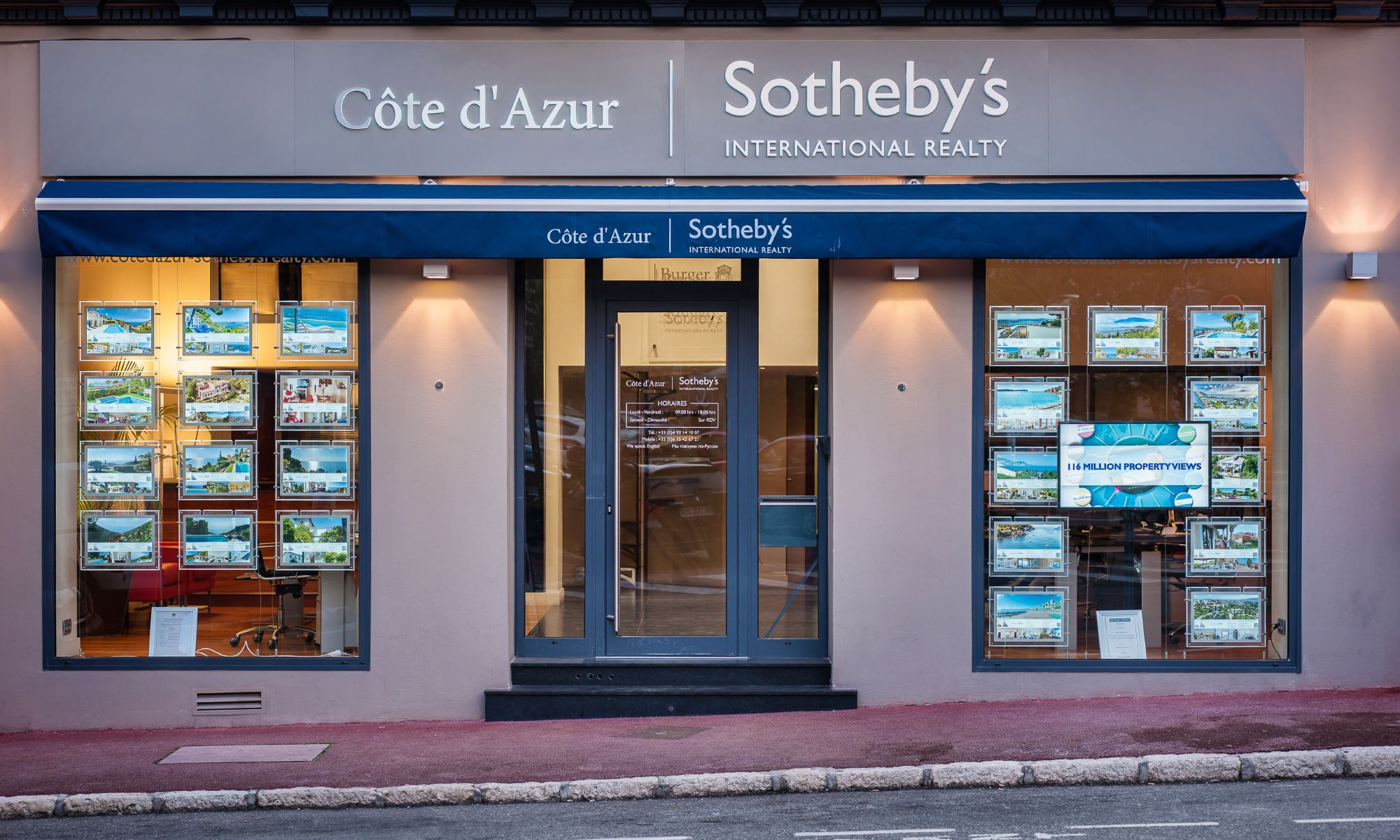 Office Côte d'Azur Sotheby's International Realty Photo
