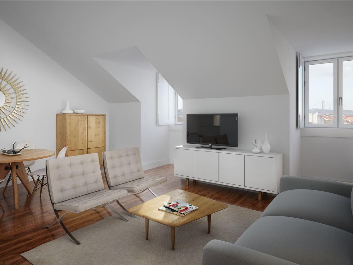 Apartamento para Venda às Flat, 1 bedrooms, for Sale Chiado, Lisboa, Lisboa Portugal