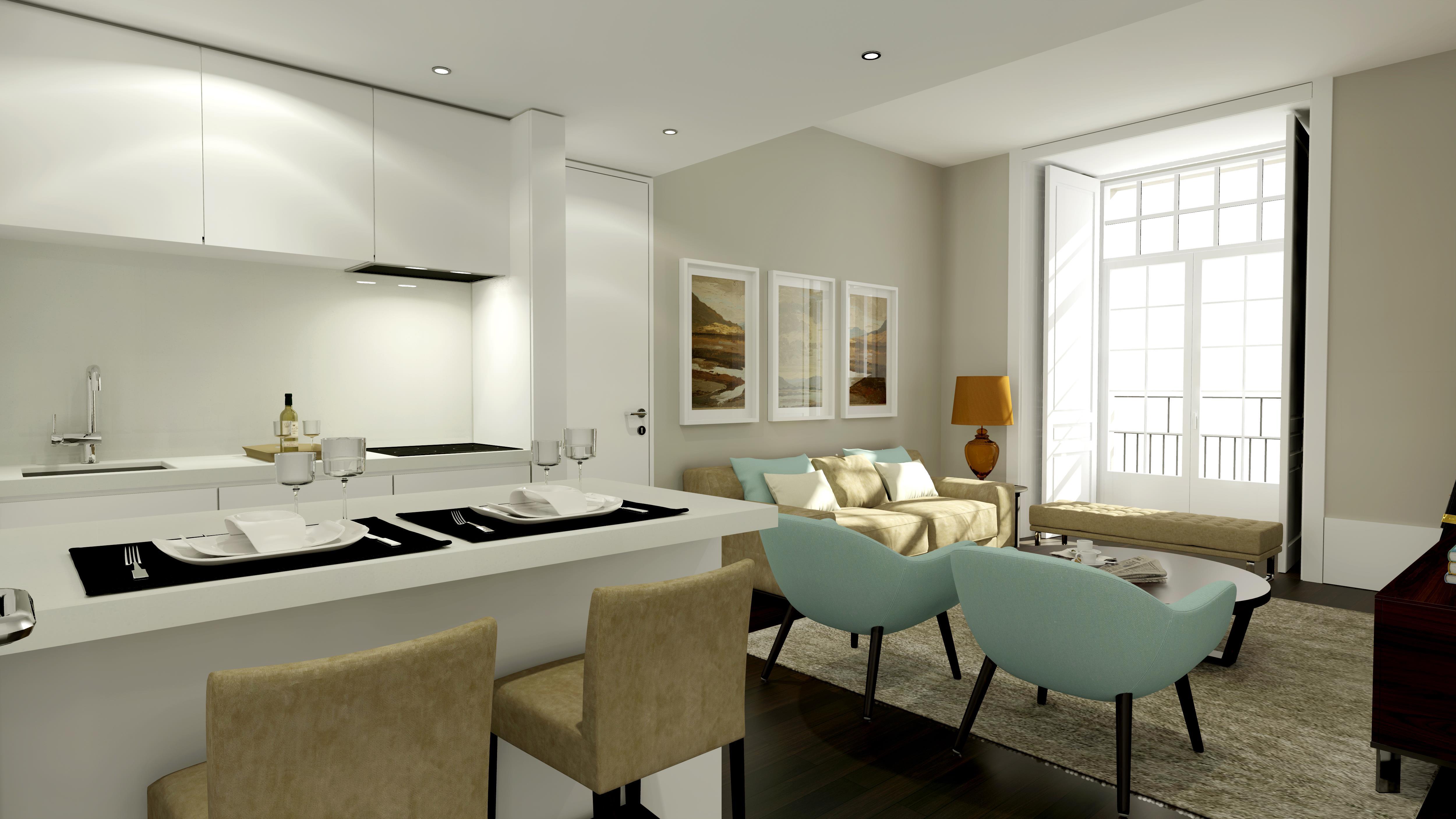 Appartement pour l Vente à Flat, 0 bedrooms, for Sale Lisboa, Lisbonne, Portugal