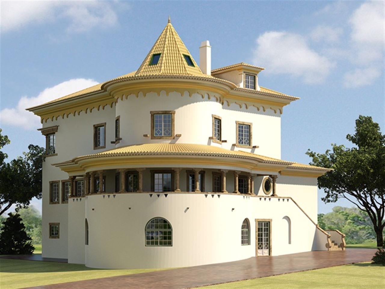 Частный односемейный дом для того Продажа на Detached house, 7 bedrooms, for Sale Azenhas Do Mar, Sintra, Лиссабон Португалия