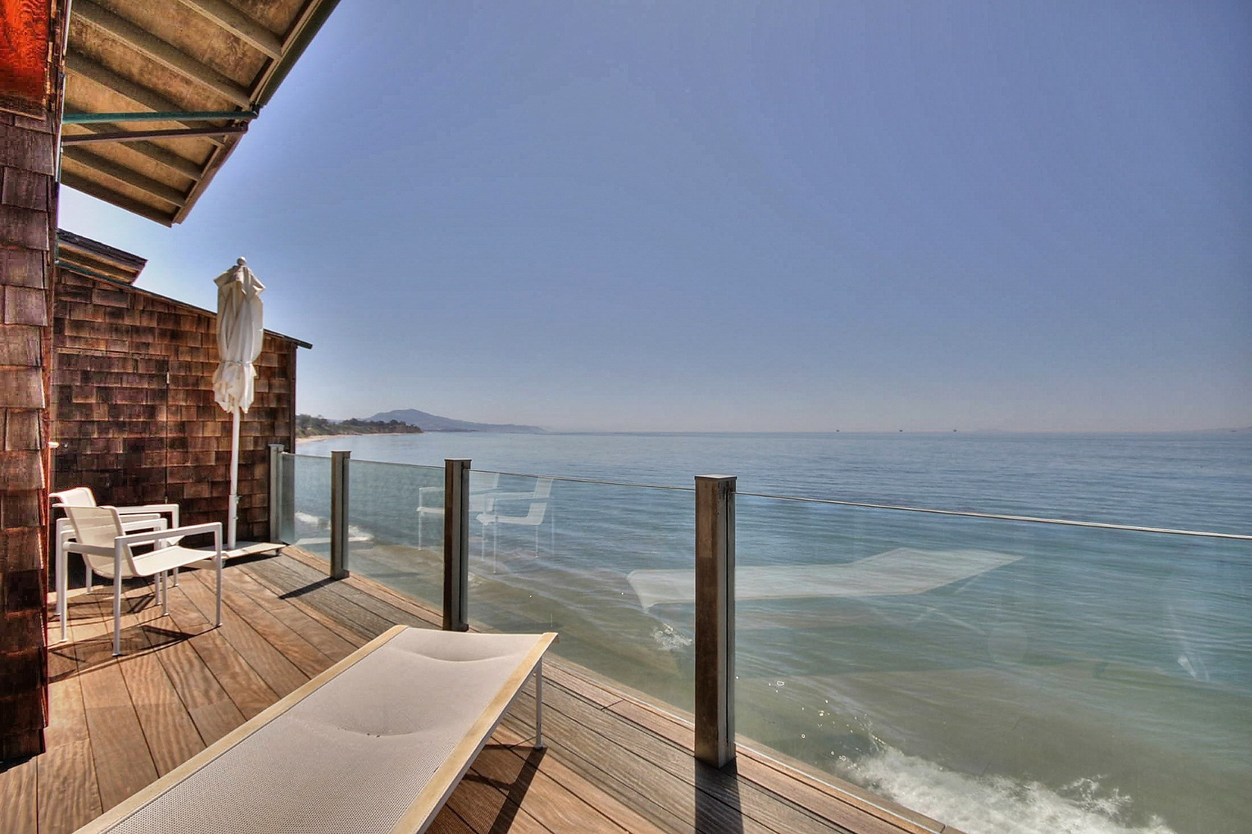 sales property at Oceanfront Summerland Retreat