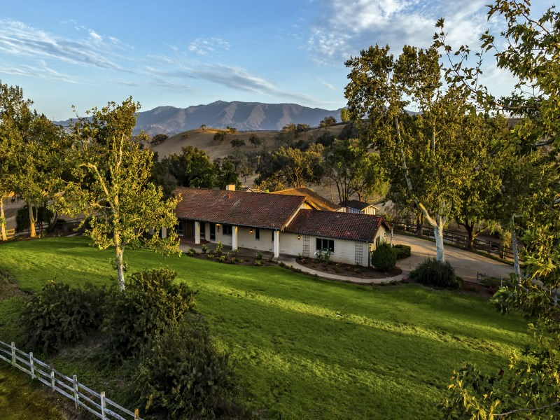 Single Family Home for Sale at Linda Vista Ranch 1535 Linda Vista Drive Santa Ynez, California 93463 United States