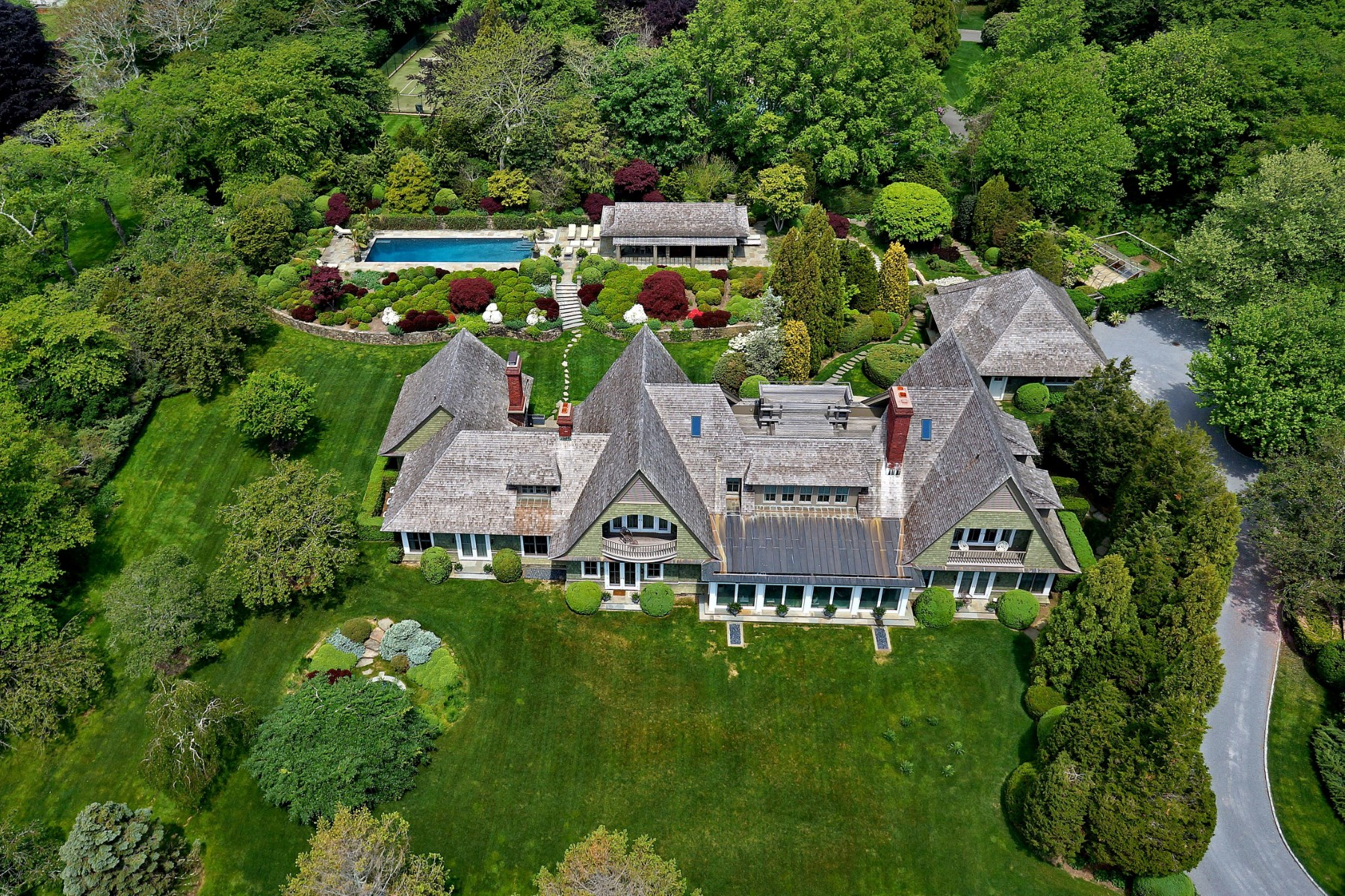 獨棟家庭住宅 為 出售 在 Exceptional Further Lane Estate East Hampton Village, East Hampton, 紐約州 11937 美國