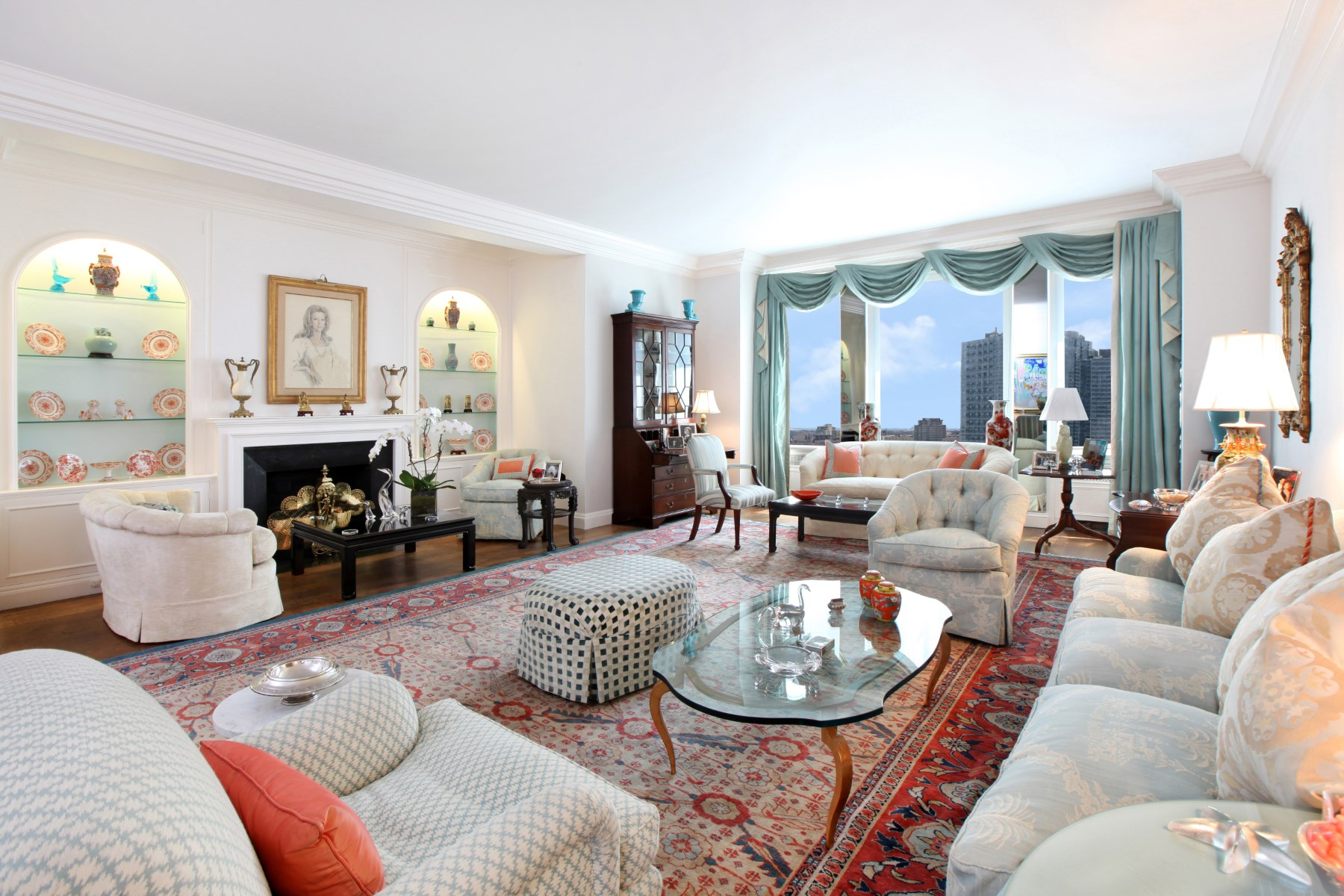 Co-op for Sale at River House: 10 Rooms of Grace and Style Midtown East, New York, New York, 10022 United States