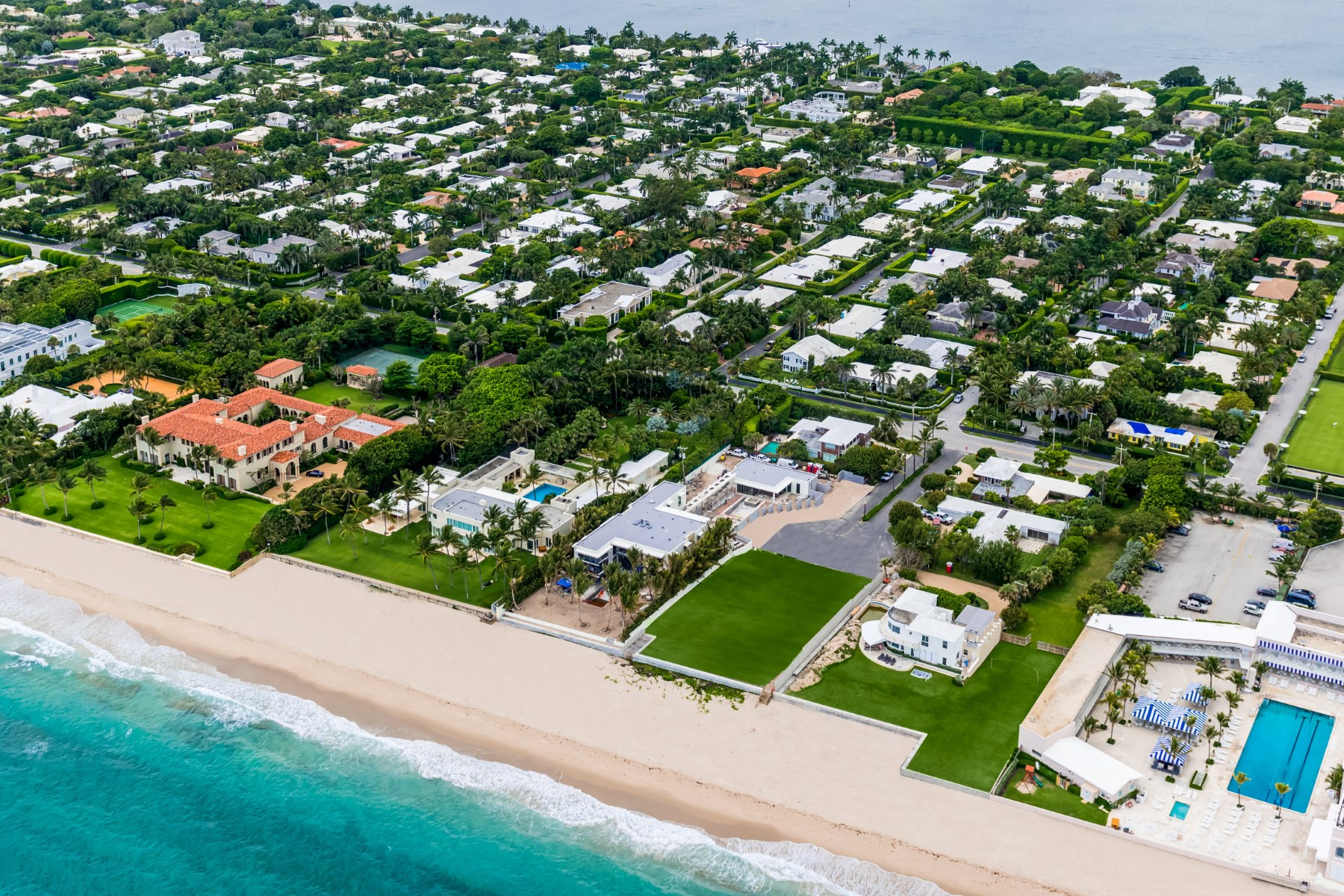 Terreno por un Venta en Prime Direct Oceanfront Land North End, Palm Beach, Florida 33480 Estados Unidos