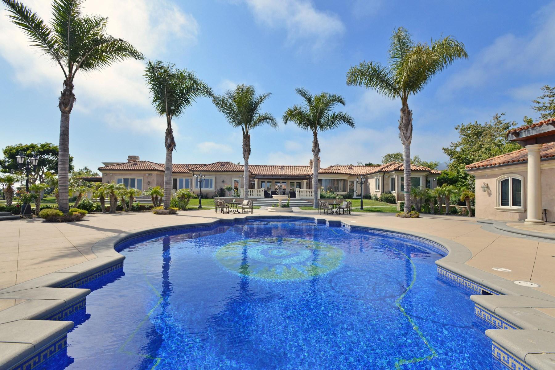 一戸建て のために 賃貸 アット Stunning Compound With Ocean Views 29700 Baden Place Malibu, カリフォルニア, 90265 アメリカ合衆国