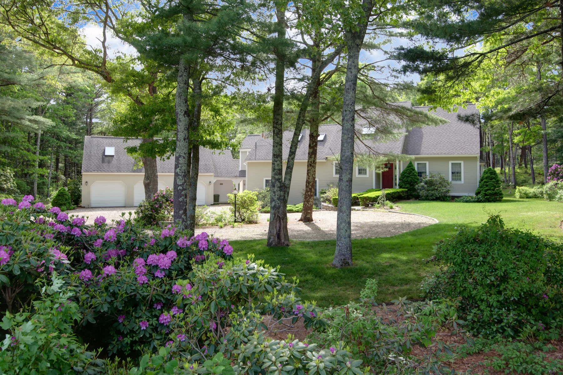 Single Family Home for Sale at Private Oyster Harbors Home 292 Grand Island Drive Osterville, Massachusetts, 02655 United States