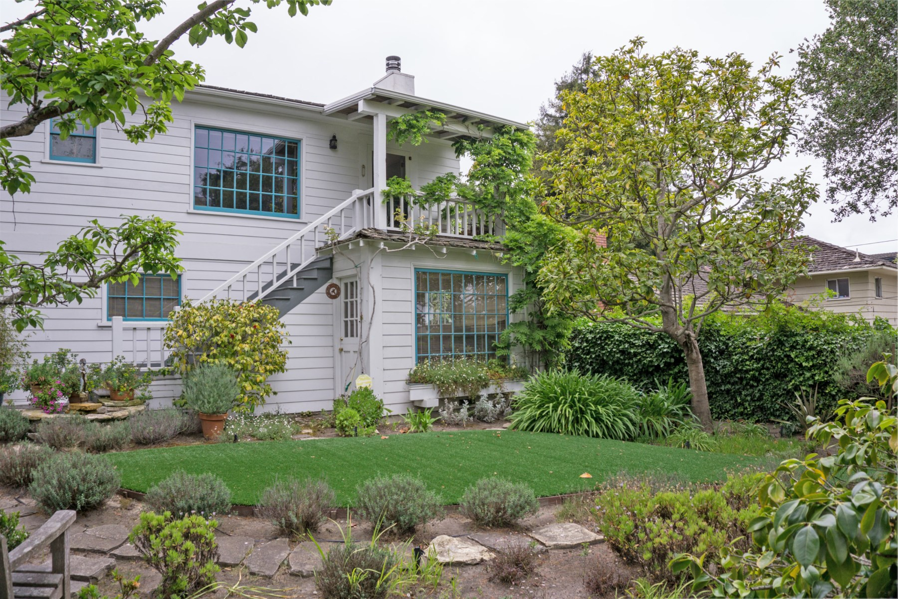 Single Family Home for Sale at Vintage Vibes and Ocean Views 700 Grove Street Monterey, California 93940 United States