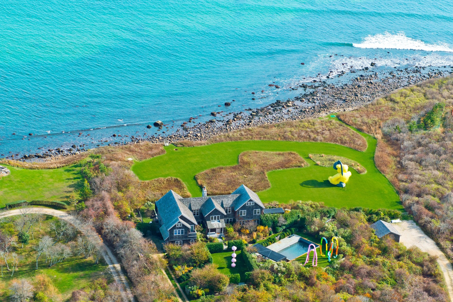 Single Family Home for Sale at Montauk Moorlands 406 Old Montauk Highway Montauk, New York 11954 United States