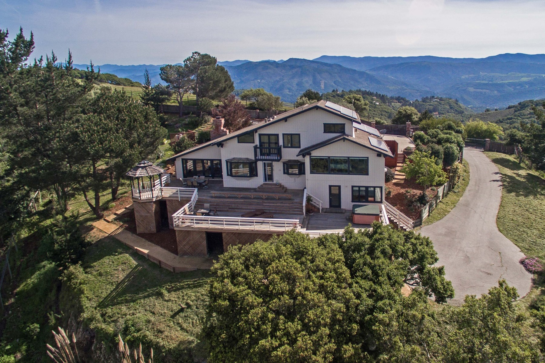 Land for Sale at Panoramic Ocean, Mountain, Valley Views 10400 Saddle Road Monterey, California, 93940 United States
