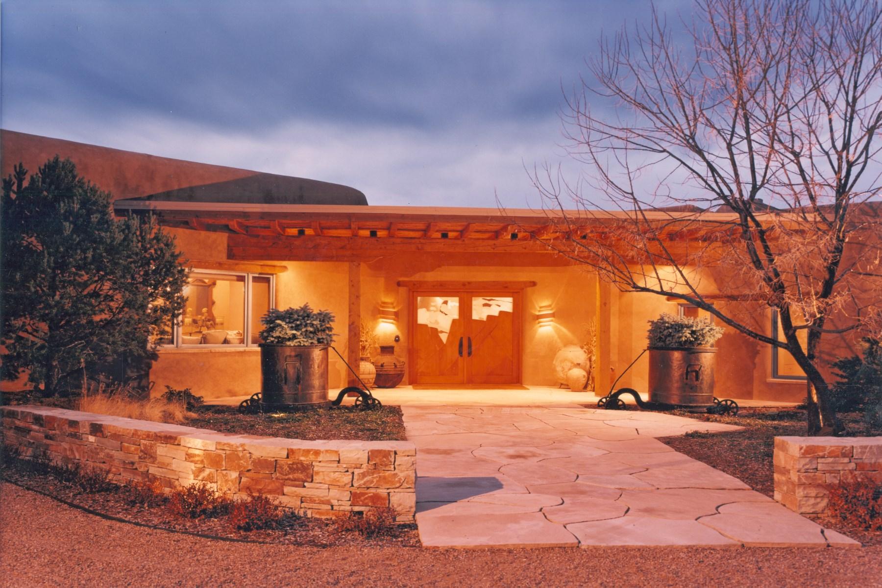 Vivienda unifamiliar por un Venta en 4 Camino Sabio Santa Fe, Nuevo Mexico 87574 Estados Unidos