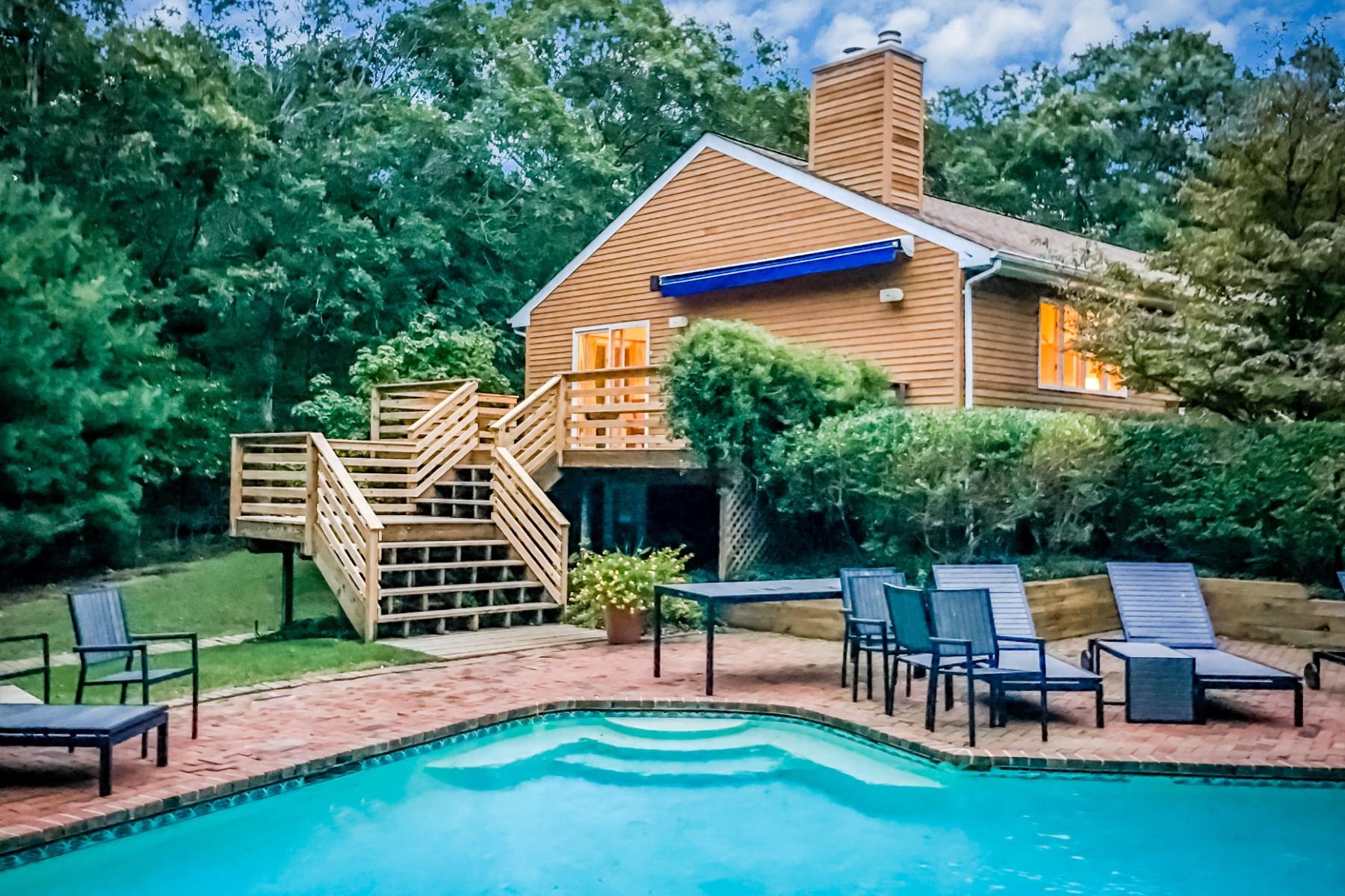 rentals property at East Hampton Retreat