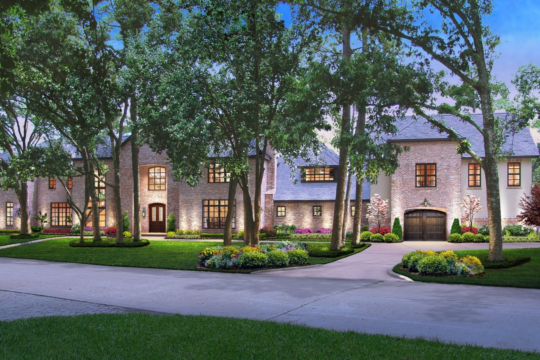 独户住宅 为 销售 在 19 Lacewood 休斯顿, 得克萨斯州, 77024 美国