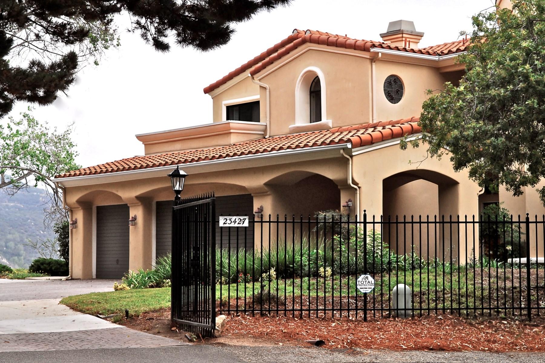 Single Family Home for Sale at Ocean and Mountain Views 23427 Copacabana Street Malibu, California 90265 United States