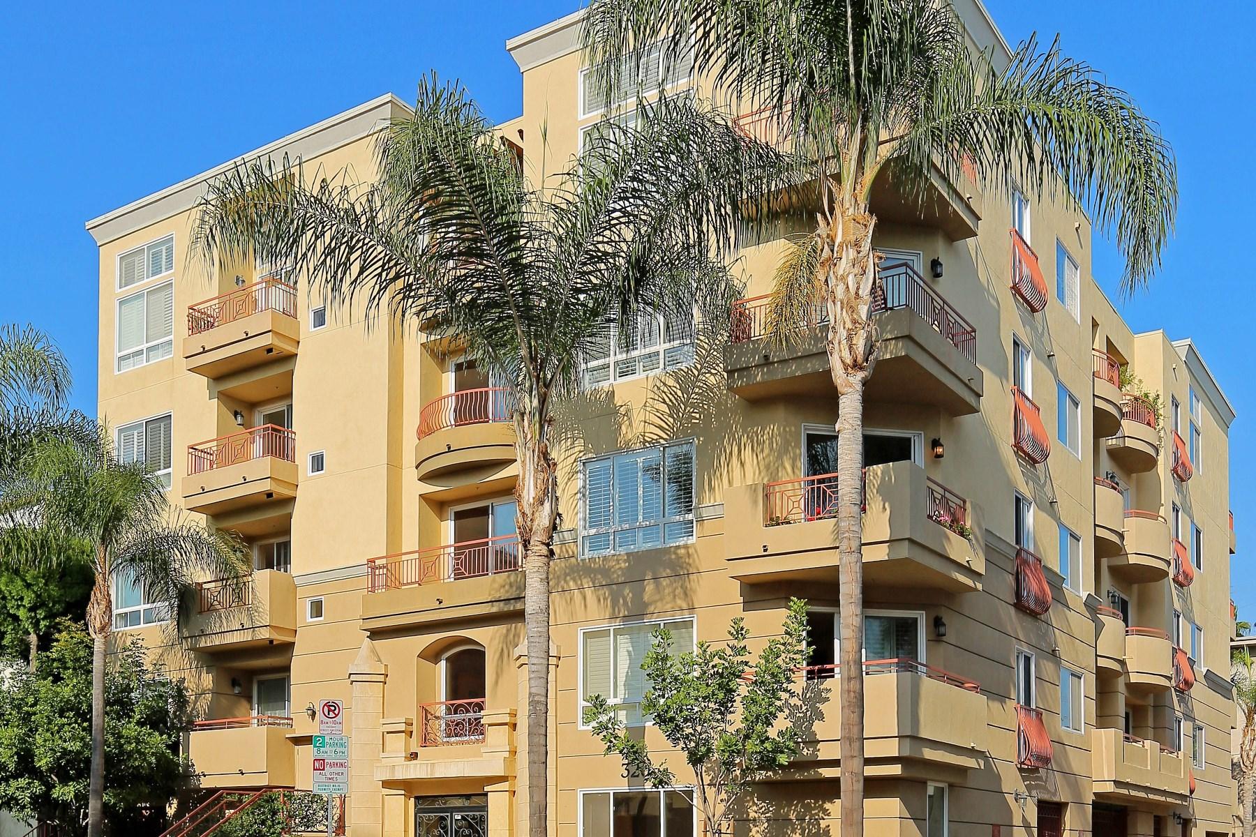 Condominium for Sale at Magnificent Mediterranean Condo 320 S Willaman Drive #304 Beverly Center, Los Angeles, California, 90048 United States