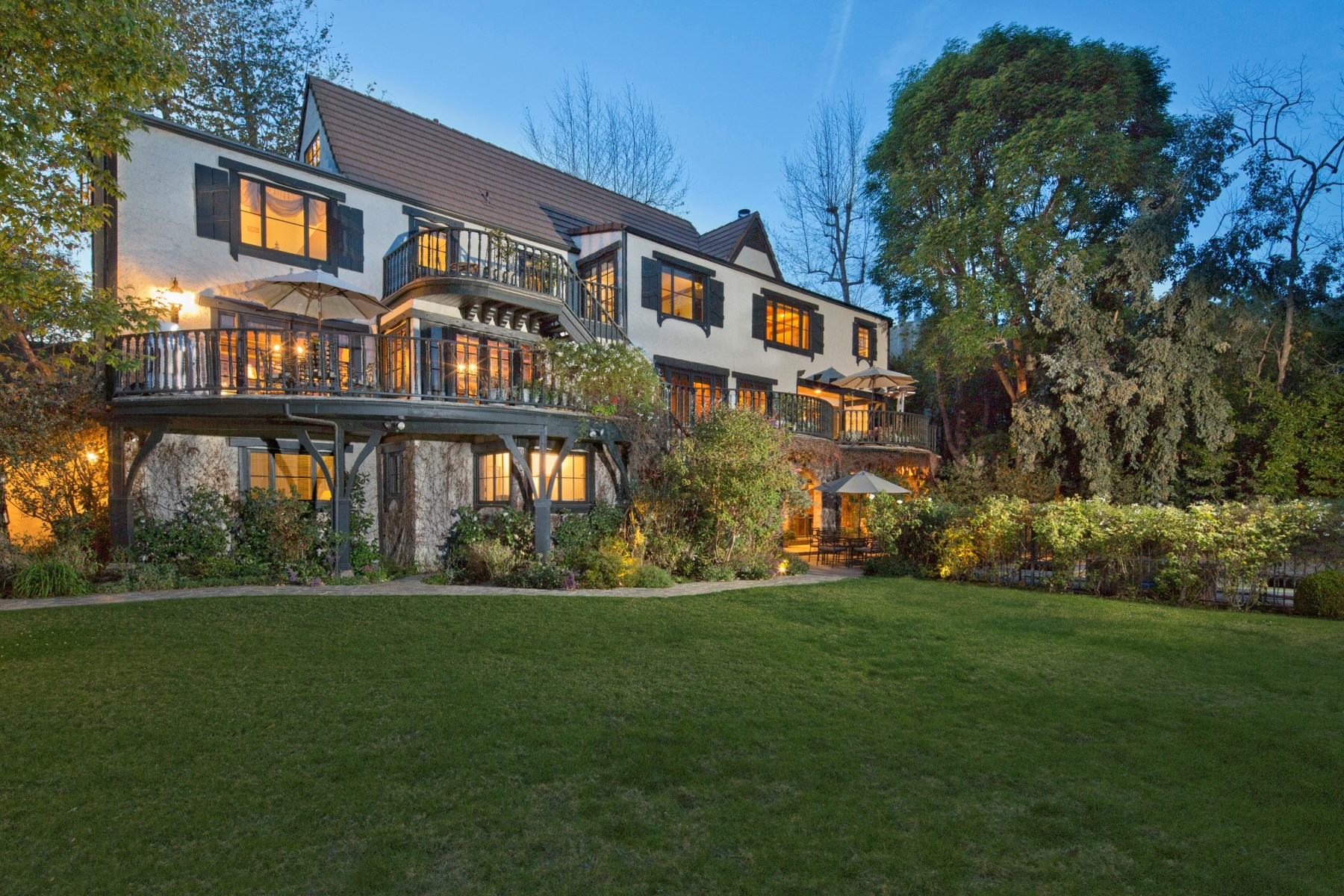 rentals property at Distinguished Tudor-style Home