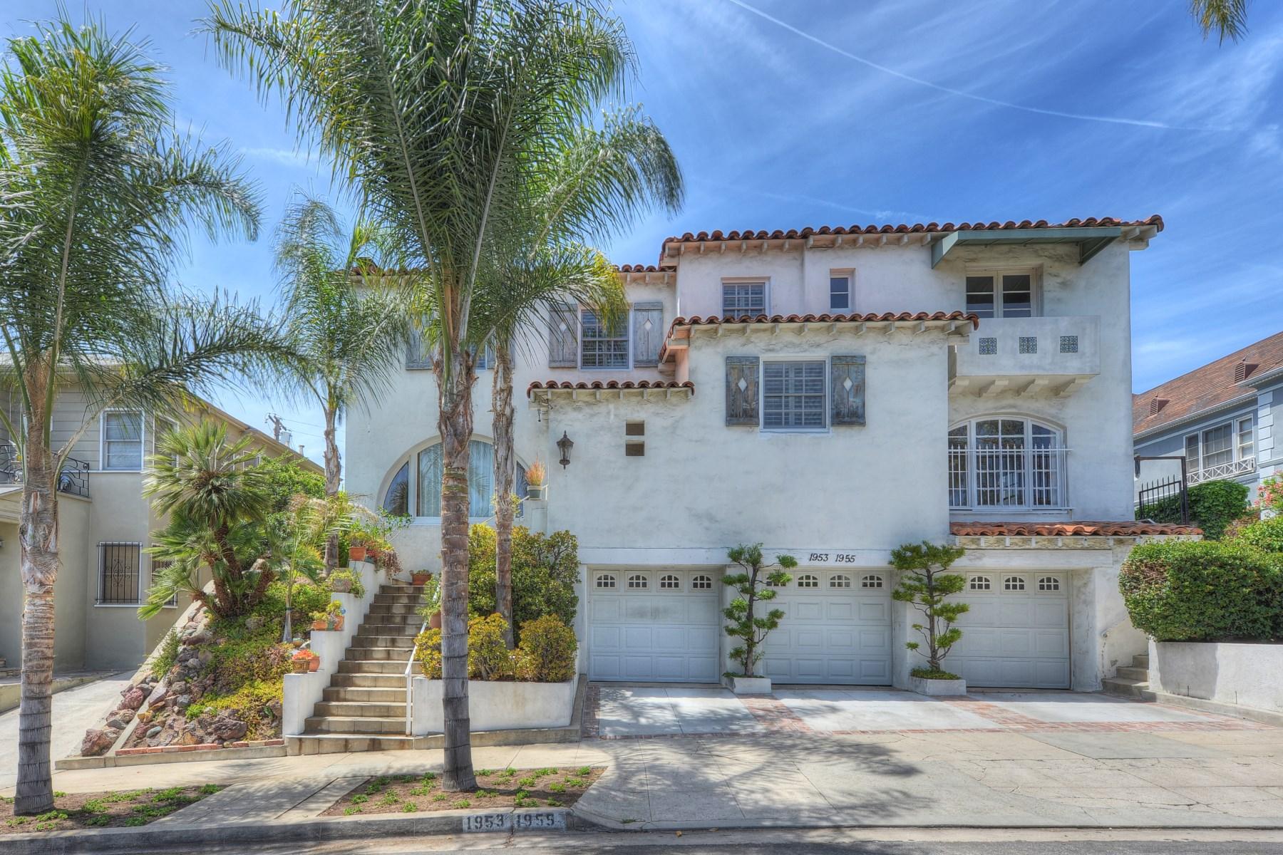 Многосемейный дом для того Продажа на 1953 North Kenmore Avenue Los Feliz, Los Angeles, Калифорния 90027 Соединенные Штаты