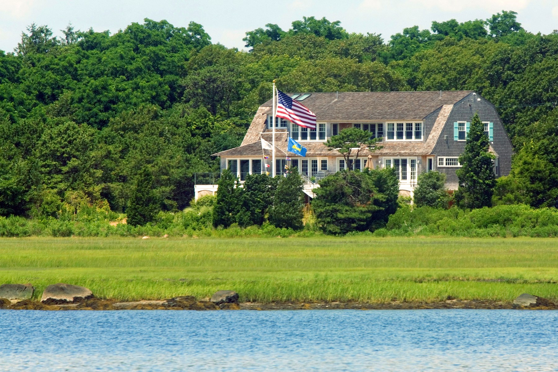 Single Family Home for Sale at Stylish Cape Cod Living 165 Wings Neck Road Pocasset, Massachusetts, 02559 United States