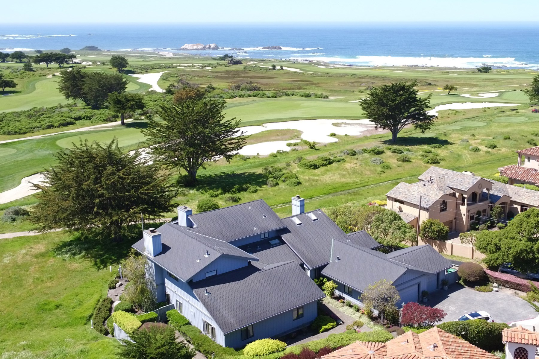 Single Family Home for Sale at Incredible Views from Incredible Home 1038 Rodeo Road Pebble Beach, California, 93953 United States