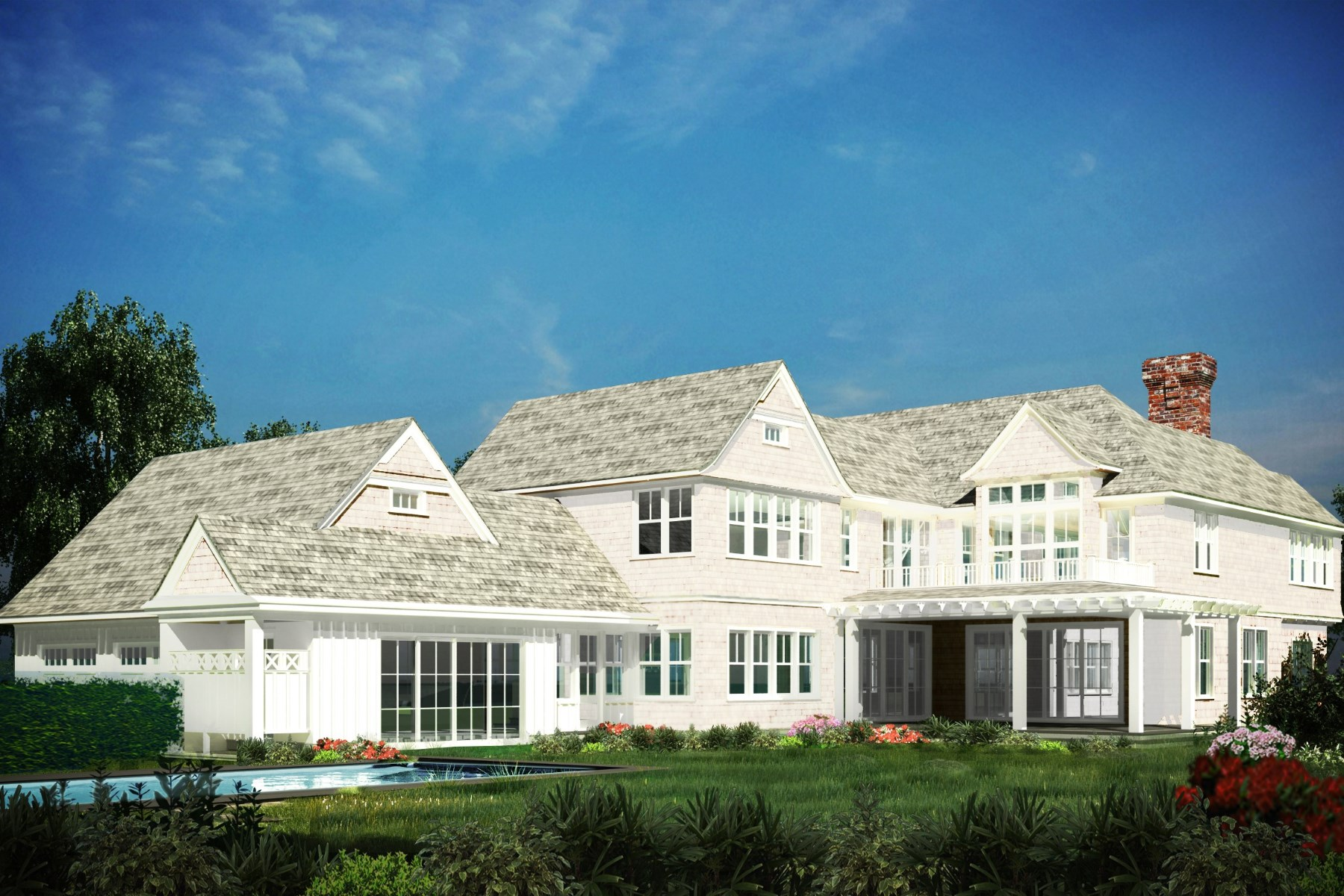 Single Family Home for Sale at Southampton Village New Construction 20 Downs Path Southampton Estate Section, Southampton, New York, 11968 United States