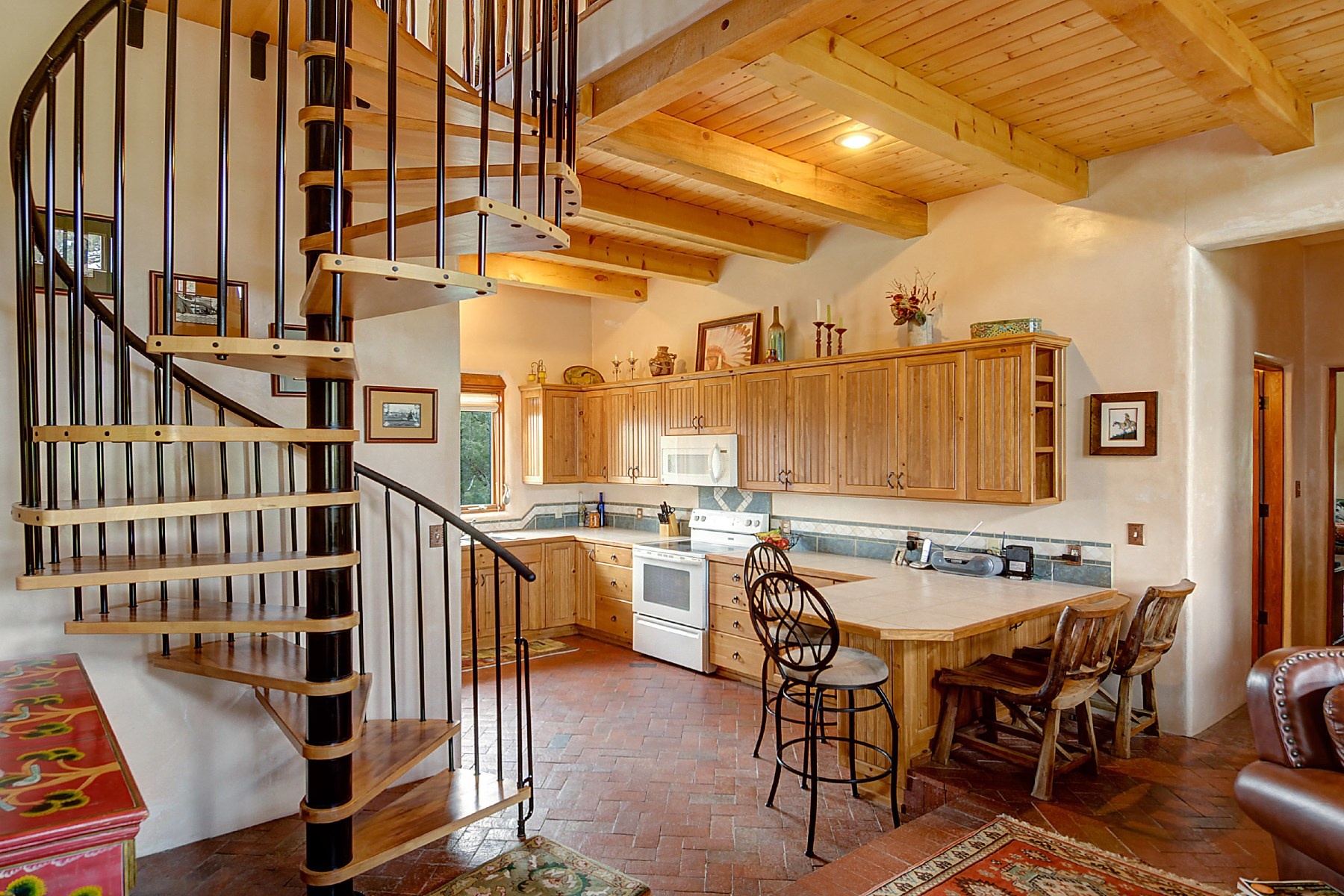 土地 为 销售 在 130 Pacheco road 2hawk Ranch Penasco, 新墨西哥州 87553 美国