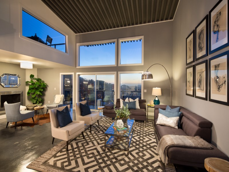 Single Family Home for Sale at Modern View Masterpiece 361 Upper Ter Cole Valley, San Francisco, California 94117 United States