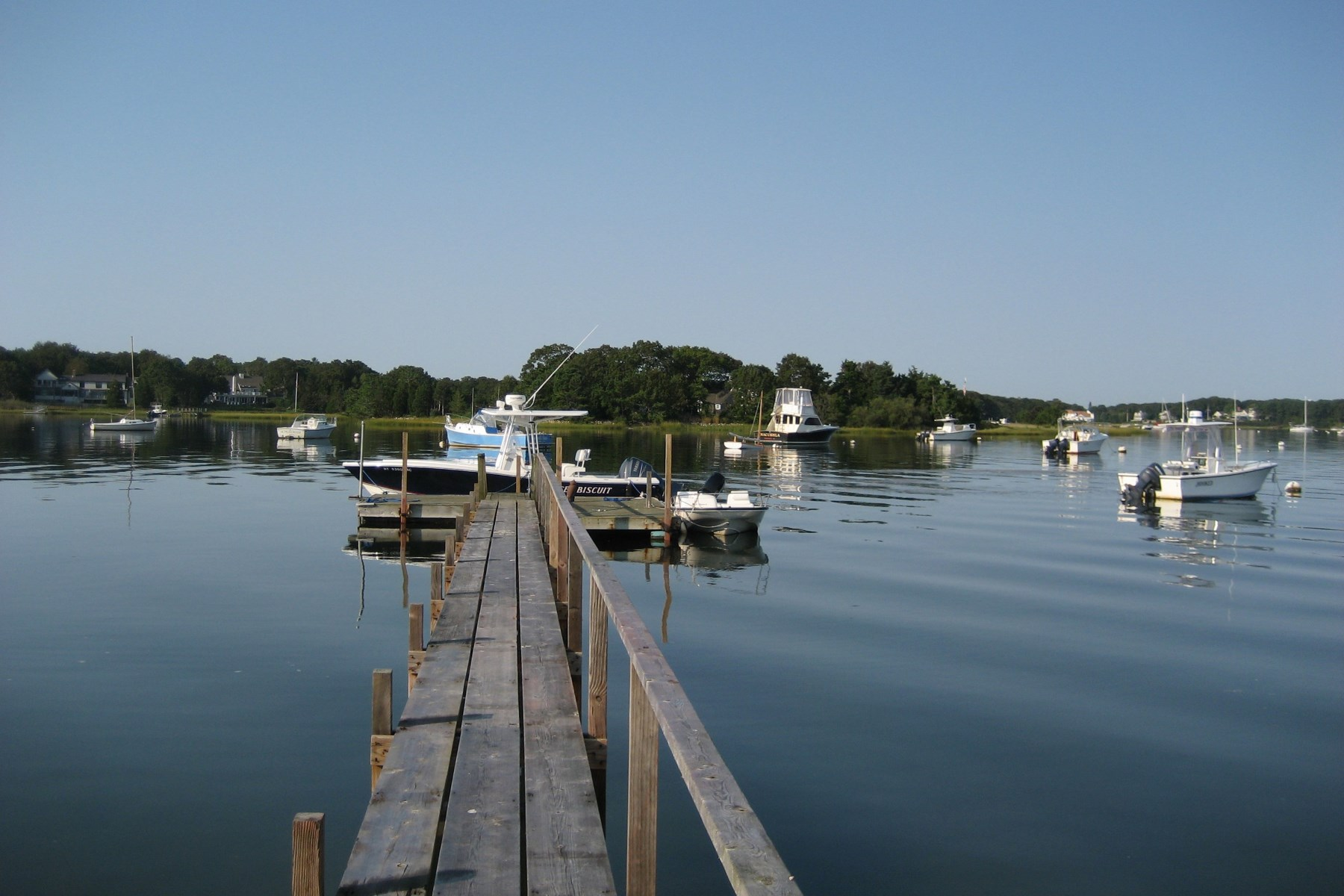 Single Family Home for Sale at Waterfront with Deep Water Dock 220 Bay Street Osterville, Massachusetts, 02655 United States