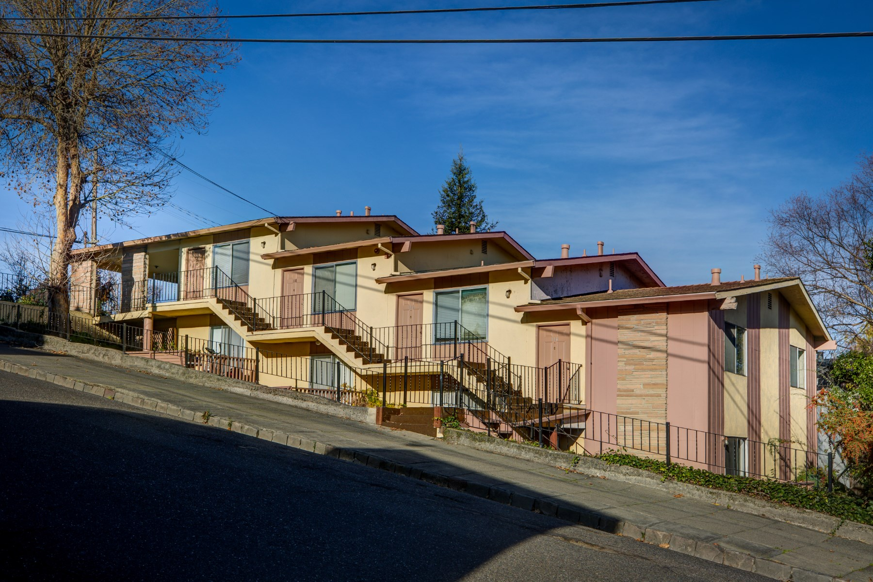 Multi-Family Home for Sale at Westside Petaluma Four-Plex 114 Oak St Petaluma, California 94952 United States