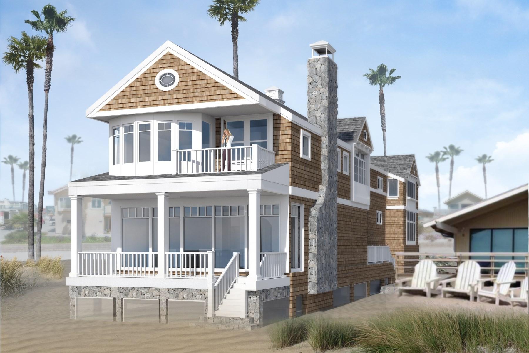 Casa Unifamiliar por un Venta en Quintessential Beach House 861 Mandalay Beach Road Oxnard, California, 93035 Estados Unidos