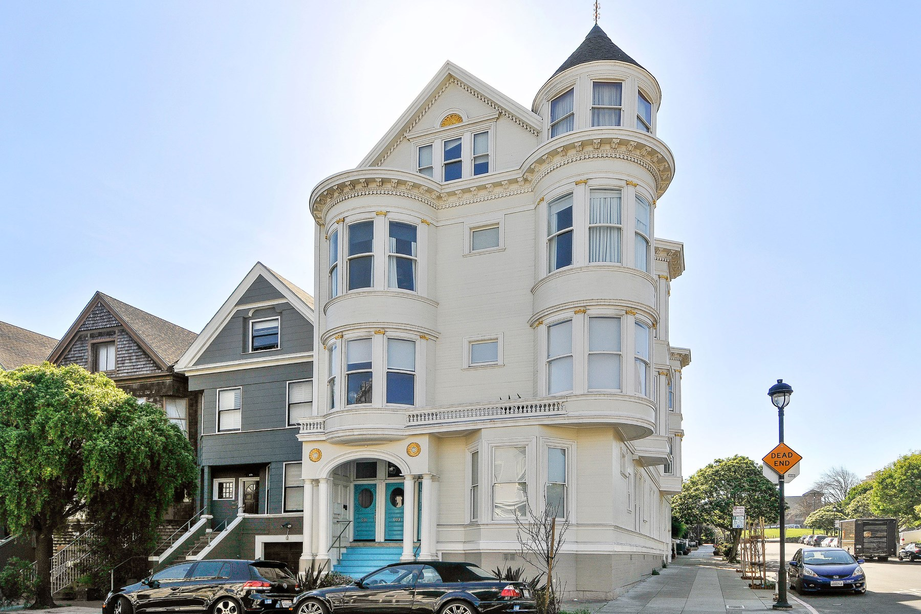 Квартира для того Продажа на Exquisite Duboce Park Flat 595 Waller St Hayes Valley, San Francisco, Калифорния 94117 Соединенные Штаты