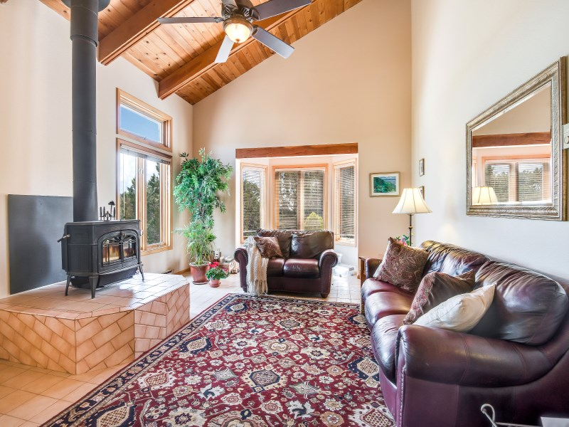 Single Family Home for Sale at 4 Ravens Ridge Road Santa Fe City Southeast, Santa Fe, New Mexico 87505 United States