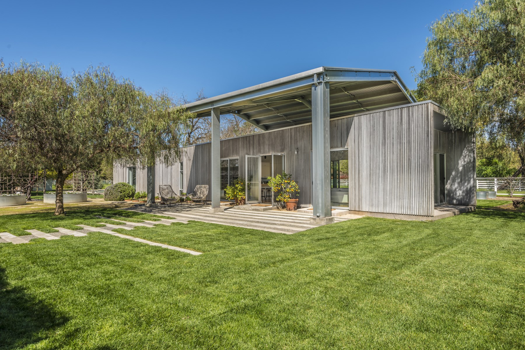 sales property at Modern Sonoma Retreat