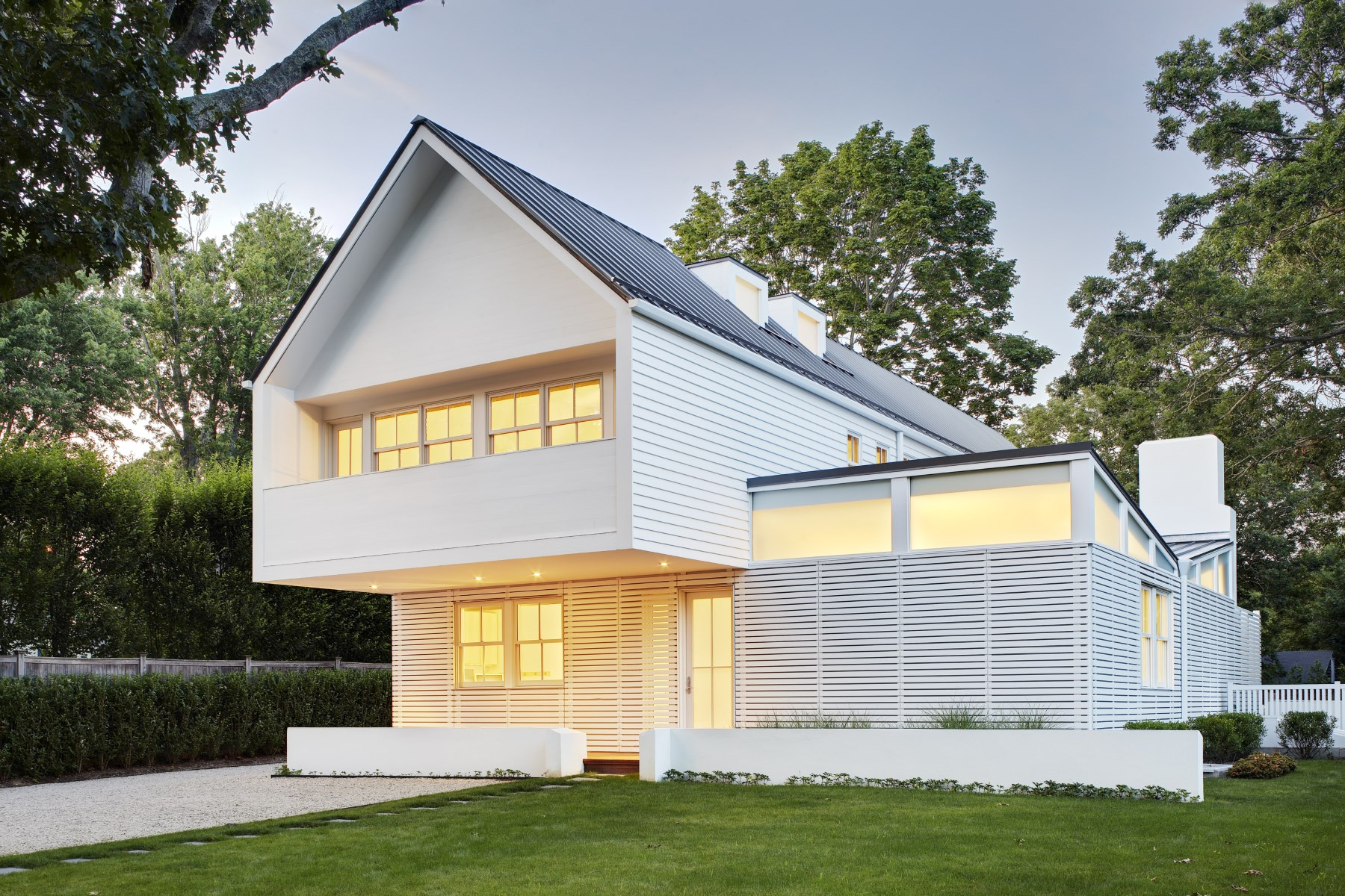 단독 가정 주택 용 매매 에 Bates Masi Modern in Amagansett Village 76 Oak Lane Amagansett, 뉴욕, 11930 미국