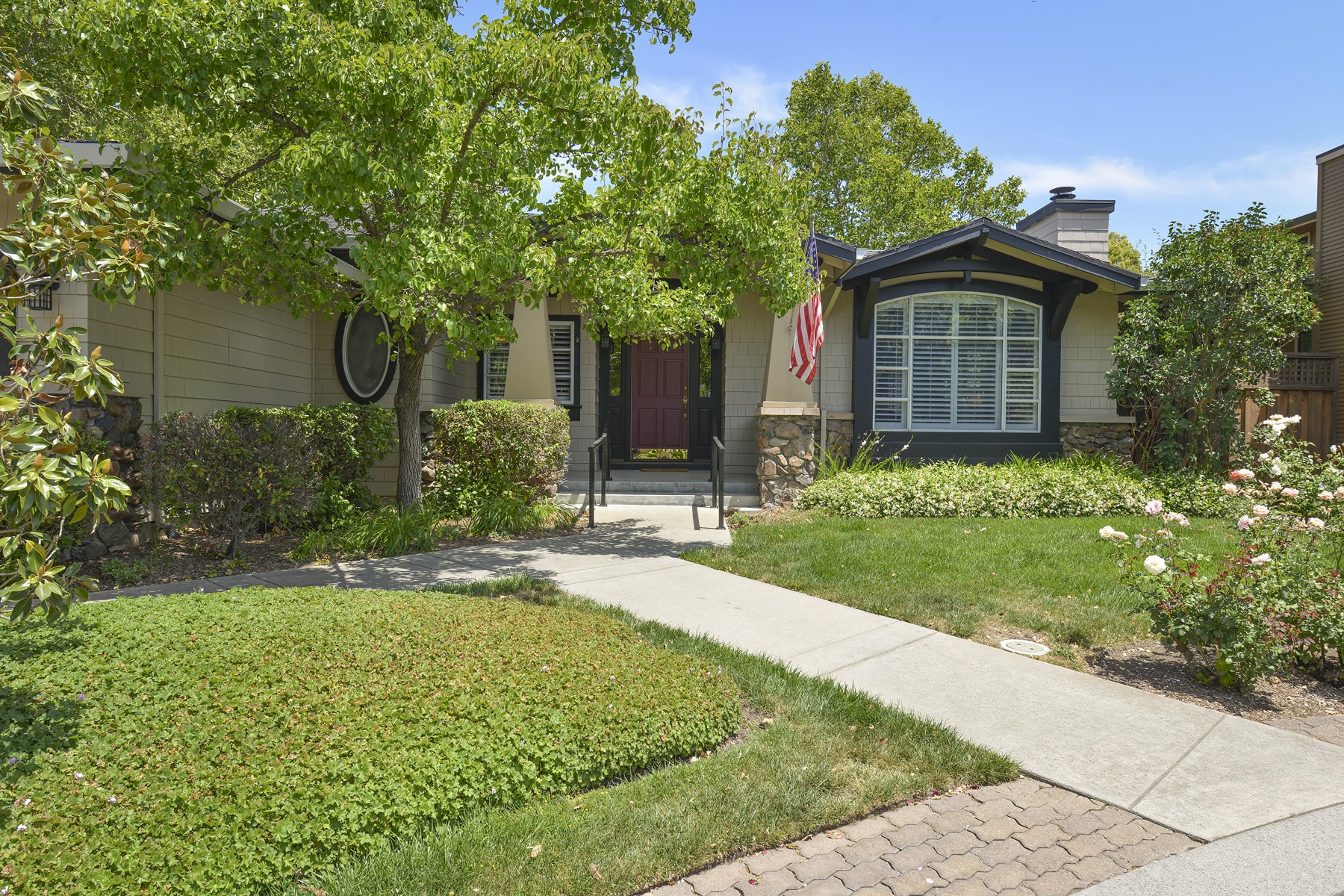 Maison unifamiliale pour l Vente à Yountville Heritage Estates Home 6 Harvest Ct Yountville, Californie 94599 États-Unis