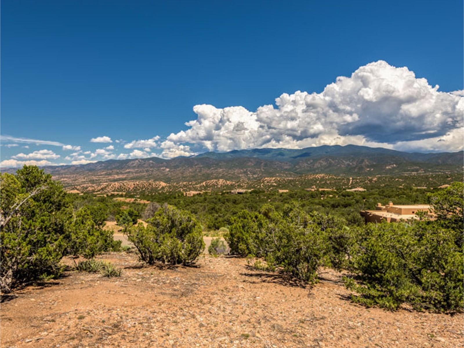 Terrain pour l Vente à 2958 Tesuque Overlook Santa Fe, New Mexico 87506 États-Unis