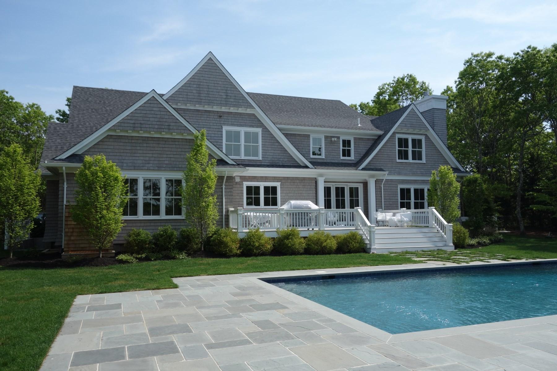 Casa para uma família para Locação às Brand New Beachy Modern Interiors Southampton, Nova York, 11968 Estados Unidos