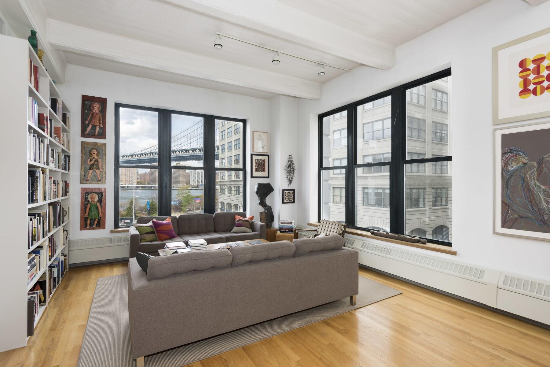 Condominium for Rent at SENSATIONAL 3 BED SWEENEY LOFT 30 Main Street Apt 4B Brooklyn, New York 11201 United States