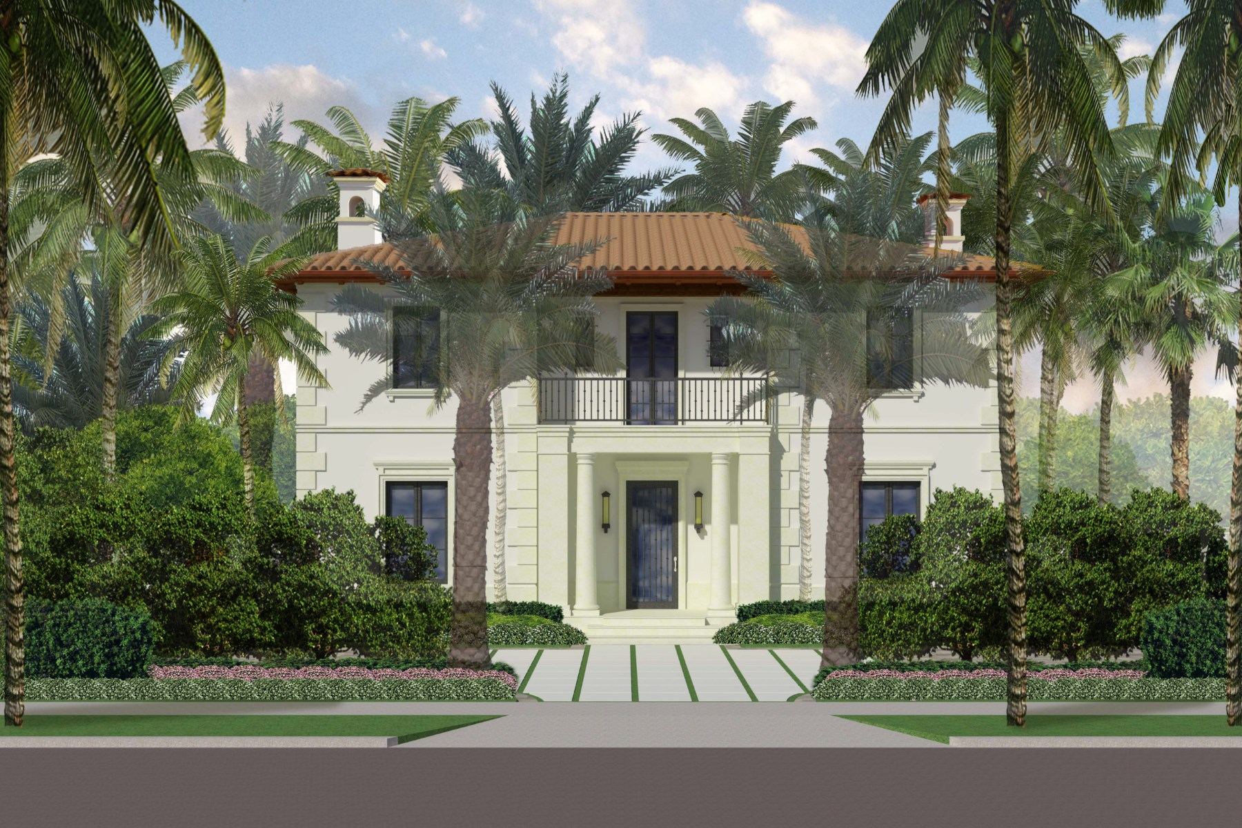 獨棟家庭住宅 為 出售 在 Mid-Town Palm Beach New Construction 280 N County Rd North End, Palm Beach, 佛羅里達州, 33480 美國