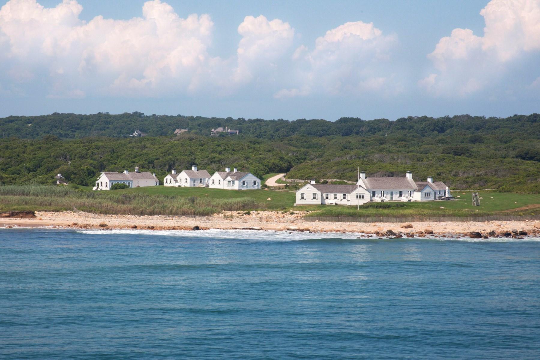 Частный односемейный дом для того Продажа на Eothen Over 30-Acre Oceanfront Montauk, Нью-Йорк 11954 Соединенные Штаты