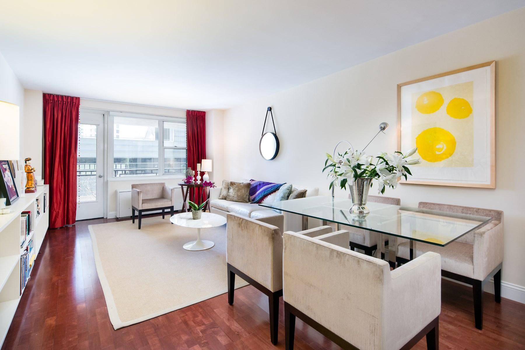 Кооперативная квартира для того Продажа на 165 West 66th Street 165 West 66th Street Apt 4D New York, Нью-Йорк, 10023 Соединенные Штаты