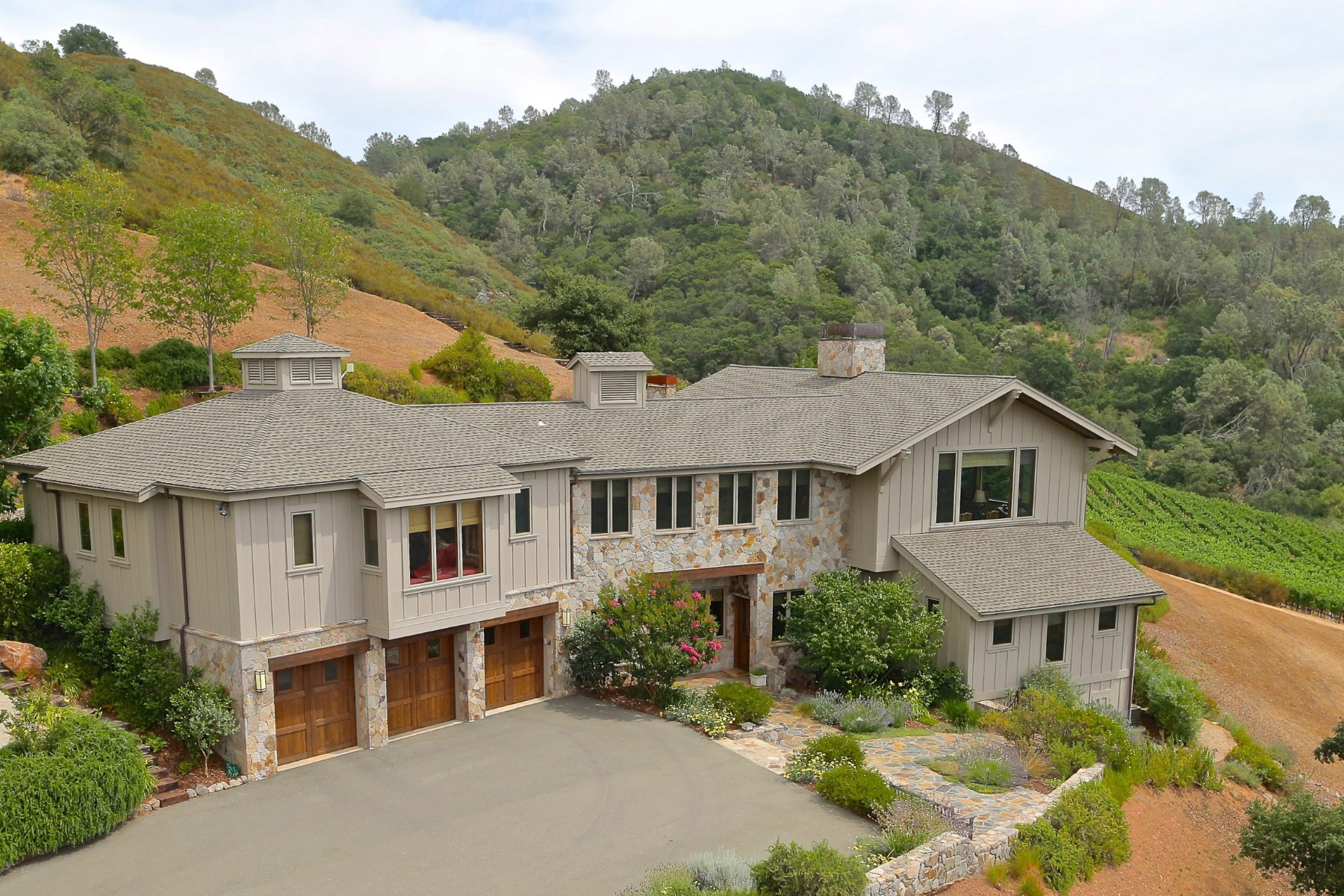 Vivienda unifamiliar por un Venta en Greeg Mountain Ranch St. Helena, California, 94574 Estados Unidos